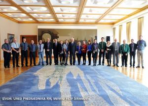 Ured Predsjednika RH, snimio Filip Širanović