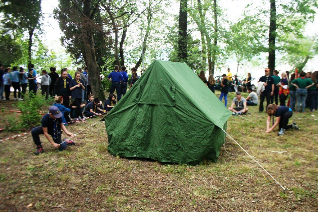 Dizanje šatora